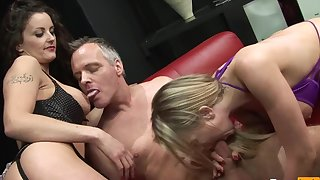 Crazy 3Some Orgy with Shameless Sluts