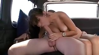 Agreeable and wild cowgirl riding
