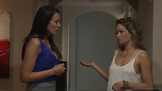 Unsubtle on girl action with Prinzzess and Reagan Foxx