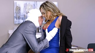 Natasha Careful seduced an injured fellow for a plowing game