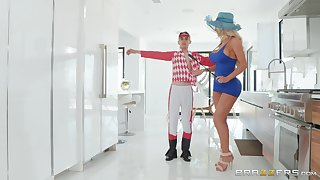 Nicolette Shea is being screwed and enchanted unconnected with a man Jordi