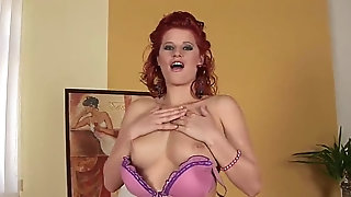Massive melon Czech sandy-haired cougar freesex
