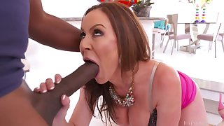Kendra Lust - The Mandingo Challenge Interracial Porn