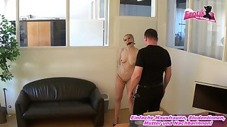 german short hair blonde teen fucks