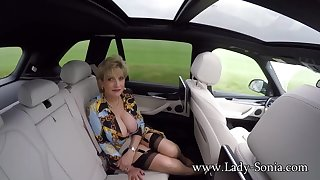 JOI from Lady Sonia while in a car