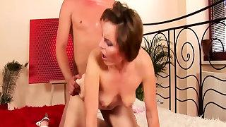 extreme rough sex with my skinny stepmom