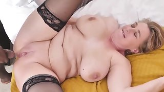 mature busty mother tries big black cock - PureSexMatchcom