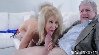 Erica Lauren loves to fuck old men