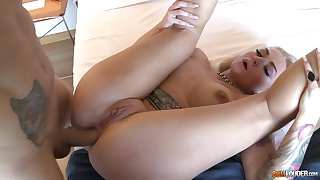 Tall big titted Russian MILF enjoying hot sex with no strings attached
